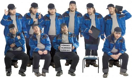 Työnhakukurssin ryhmäkuva. Kuva: Pentti Sormunen